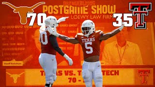 Texas Football Postgame with Ketch and Anwar on the Longhorns victory vs Texas Tech and Casey Tho...