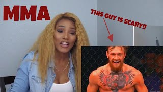 Clueless new mma fan reacts to Conor McGregor Highlights, Reaction,KOs, MMA, UFC knockouts