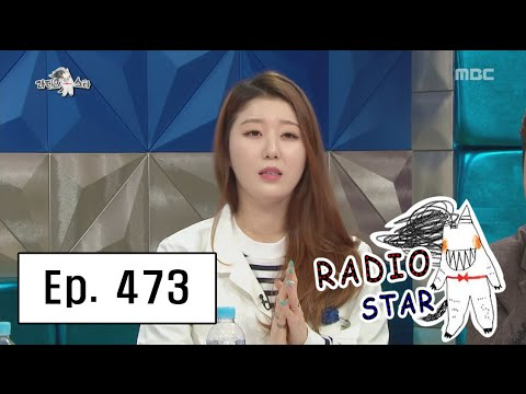 [RADIO STAR] 라디오스타 - Nabi complained about Jang Dong-min 20160406