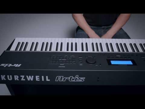 Kurzweil Artis Stage Piano - First Look