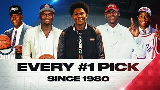 Every #1 Pick Since 1980 | Anthony Edwards, LeBron, Shaq and MORE