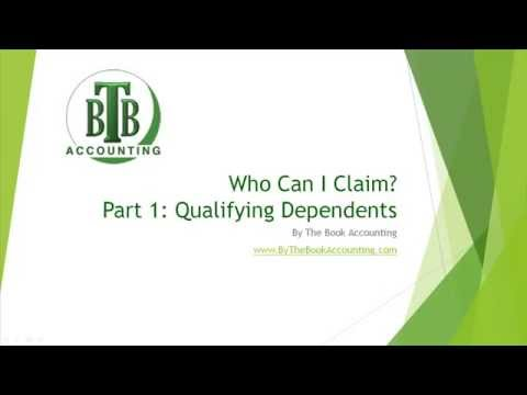 Who Can I Claim? Part 1 - Qualifying Dependents