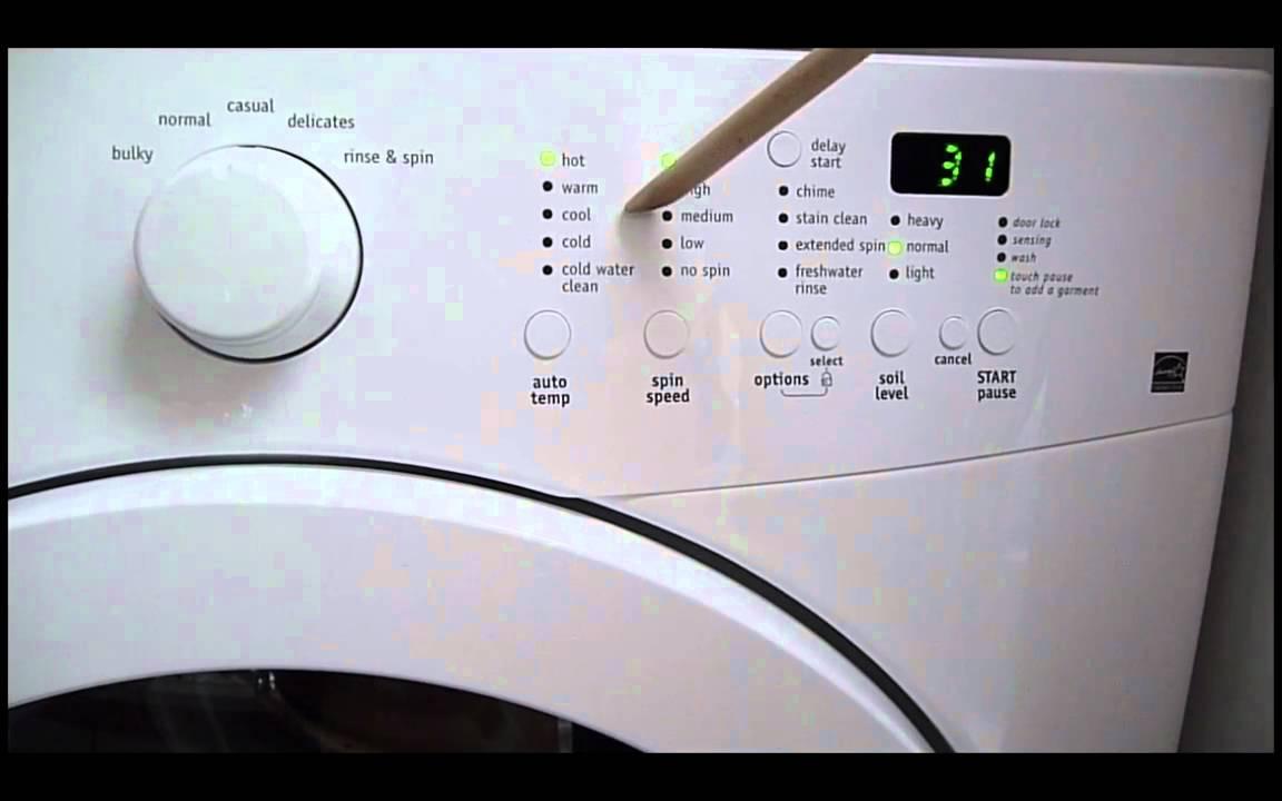 Frigidaire Affinity Washer Malfunctions Electrolux Youtube