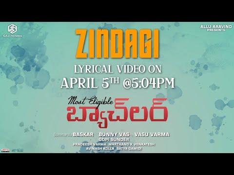 Promo: Ye Zindagi lyrical song from Most Eligible Bachelor ft. Akhil Akkineni, Pooja Hegde
