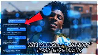 """NBA YOUNGBOY, LIL BABY """"ONE SHOT"""" LYRIC TEXT PRANK ON GRANDMA (FUNNIEST ONE EVER)"""