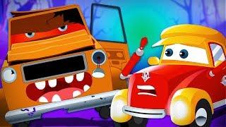 Happy Halloween | Super Car Royce | Car Cartoons For Babies | Kids Channel