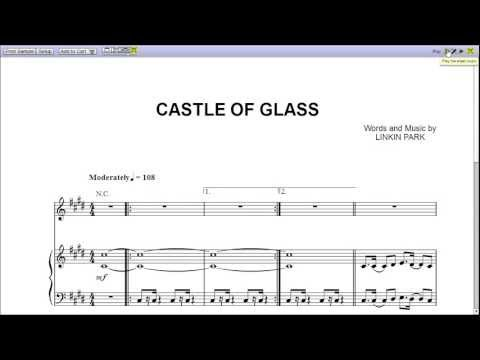 Castle of Glass - Piano Sheet Music