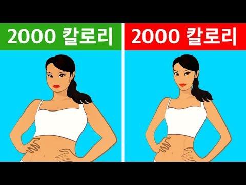 다이어트 효과가 없을 때 살을 빼는 10가지 방법