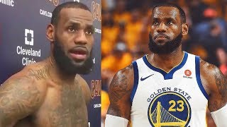 LeBron James Responds to Him Joining the Warriors Rumors! LeBron James Reacts to Warriors Rumors