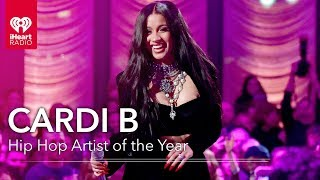 Cardi B Acceptance Speech - Hip Hop Artist of the Year | 2019 iHeartRadio Music Awards