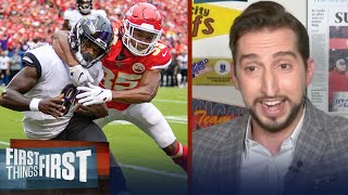 Week 3 Chiefs vs Ravens could be the biggest matchup in AFC — Nick Wright | NFL | FIRST THINGS FIRST
