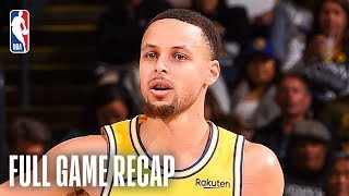 KINGS vs Warriors | Curry Knocks Down 10 3-Pointers | February 21, 2019