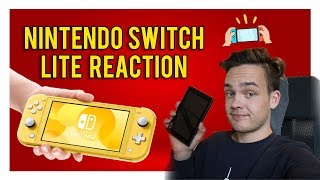 Nintendo Switch Lite REACTION & THOUGHTS
