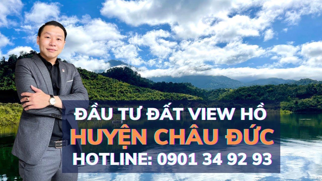 Chính chủ bán đất view hồ suối rao 500 triệu/1000m2 video