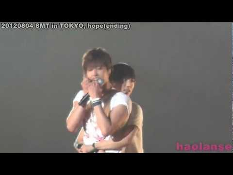 120804 Yesung back hugging U-Know