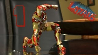 IRONMAN Stop Motion Action Video Part 1