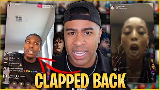 CJ SO COOL has had ENOUGH! of Fredo and CLAPS BACK!