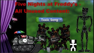 Five Nights at Freddy's - All Unused Content