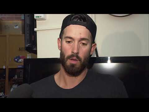 Rick Porcello Reacts Following Red Sox Loss Vs. Phillies