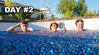 Last To Leave Orbeez Pool Wins $5,000 - Challenge