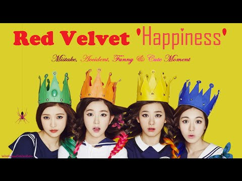 PART 133: Kpop Mistake & Accident [Red Velvet 'Happiness']
