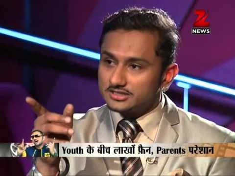 Zee News: Yo Yo Honey Singh's Interview with Sudhir Chaudhary