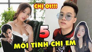 """TOP 5 mối tình """"PHI CÔNG MÁY BAY"""" cực hot của các Streamer game thủ Việt: Noway Cara, Rambo Trân Mèo"""