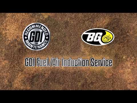 BG Automotive Maintenance Service: GDI Fuel Air Induction Service Marketing