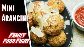 Plucinotta Mini Arancini : Video recipe   Family Food Fight 2018