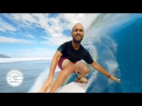 Get Barreled in Tahiti with Samsung Galaxy VR, C.J. Hobgood