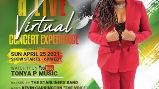 "Tonya P ""Concrete Rose"" Live Virtual Concert"