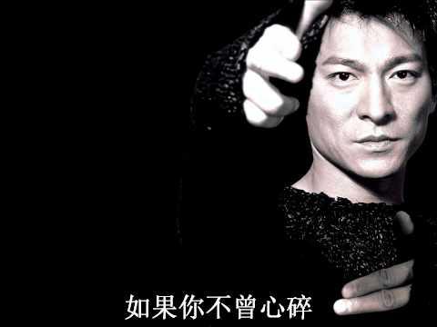 Andy Lau 刘德华 - 忘情水 歌词 Lyrics