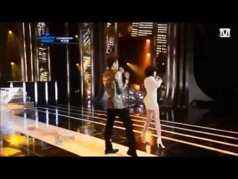2012  Idol couple dance hyuna x hyunseung  boa x taemin x yunho NS Yoon G x SIMON  Taeyeon X wooyung  X yuri   eunhyuk  x donghae  Gain X jyp  kahi X hyunjoong