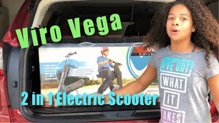 Ava Got The New Viro Vega 2 in 1 Electric Scooter