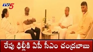 AP CM Chandrababu Focuses On National Politics; Delhi Tour..