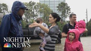 Houston Family Looks Back On Hurricane Harvey | NBC Nightly News