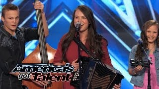 """The Willis Clan: Band of Siblings Impress With """"Sound of Music"""" Cover - America's Got Talent 2014"""