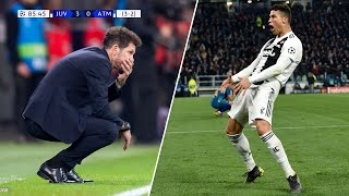 The Day Cristiano Ronaldo Silenced Diego Simeone