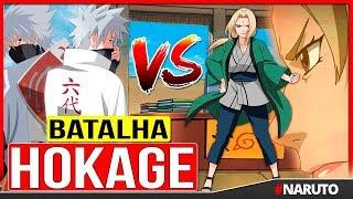 KAKASHI vs TSUNADE – BATALHA HOKAGE Anime NARUTO