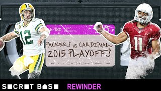 Larry Fitzgerald's overtime duel with Aaron Rodgers needs a deep rewind | 2015 Divisional Playoffs