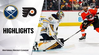 NHL Highlights | Sabres @ Flyers 3/7/20