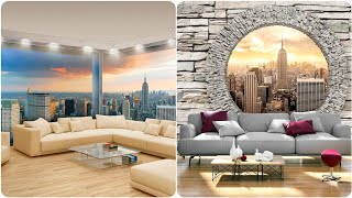 Modern Style Wall Decor Ideas 2019-20| 3D Wall Paper/ Wall Decals /Wall Moral