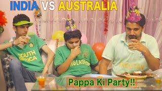 India VS AUS - Mauka Mauka Ad - Semi Finals - Pappa Ki Par..