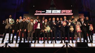 2018 Boxing Upfront   SHOWTIME Sports & Premier Boxing Champions