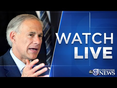 LIVE: Gov. Greg Abbott may widen reopening of Texas during COVID-19