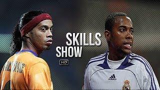 Ronaldinho & Robinho ● Samba Skills Show ● Barcelona & Real Madrid