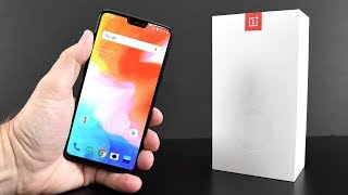 OnePlus 6: Unboxing & Hands-On