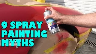 Spray Painting Myths & Misconceptions