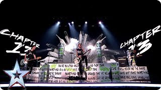 Teenage rockers Chapter 13 ROCK the BGT stage | Semi-Finals | BGT 2019