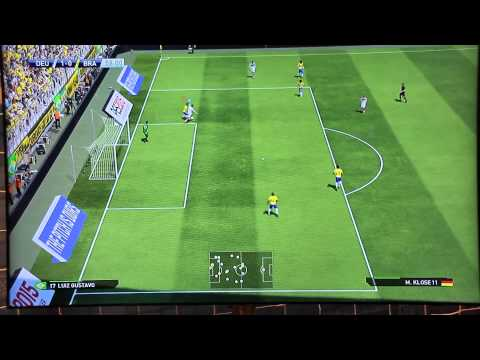 PES 2015 Gameplay Gamescom #01 - DEUTSCHLAND vs BRASILIEN Full Match - 60 FPS [HD] - PS4/XboxOne/PC